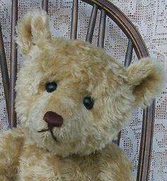Antique Steiff Style Teddy Bear by Artist Craig Bottiger