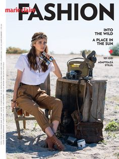 visual optimism; fashion editorials, shows, campaigns & more!: into the wild: iulia cirstea by tudor cucu for marie claire romania july / august 2015