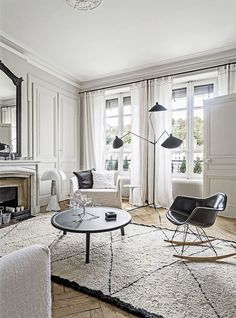 Interiors | A French Apartment