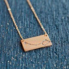 Little dipper necklace