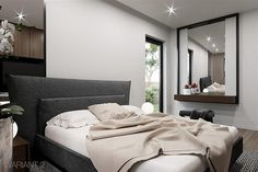 Projekt domu HomeKoncept-26 165,36 m2 - koszt budowy - EXTRADOM Modern Home Interior Design, House Plans, Sofa, Farm 2, Furniture, Villa, Home Decor, Grand Designs, House