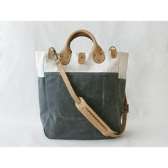 Hey, I found this really awesome Etsy listing at http://www.etsy.com/listing/98098484/garrison-bag-naturalgrey