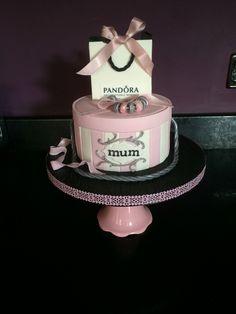 Pandora cake ( original design by Emma Jayne cake design) I made this for my mum for Mother's Day