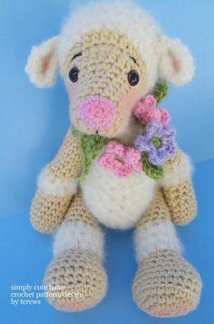 Crochet Pattern Lamb by Teri Crews instant by TeriCrewsCrochet