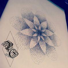 Mandala, dot work, tattoo design by pretty grotesque tattoos and designs uk for custom work please email : prettygrotesquetattoosuk@hotmail.com