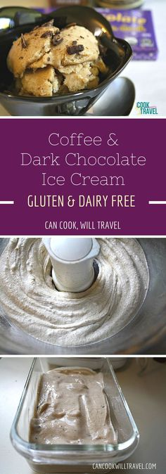 Dark Chocolate Coffee Ice Cream is not only easy and crazy good, but it's also creamy and dairy free! Oh yes, and it's way lower in sugar and filled with all natural ingredients. Score :)