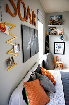 Take a peek at our darling orange kids rooms. Take an additional 10% with coupon Pin60 at www.CreativeBabyBedding.com