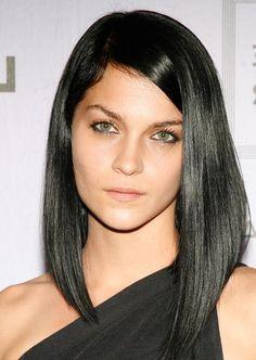 asymmetrical haircut long