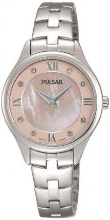 f14fe13e0a Swarovski kristályokkal díszített számlap, elegáns viselet. Ez a Pulsar  PM2203X1 női óra. #