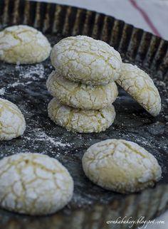 Butter free - Almond lemon cookies - Biscotti alle mandorle e limone (senza burro)