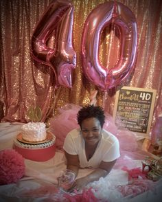 I love ❤️ the creativity inspired by Pinterest. My 40th #smashcake photo shoot turned out A-mazing! 40th Birthday Party For Women, 40th Bday Ideas, 40th Birthday Decorations, 40th Birthday Cakes, Birthday Party Invitations, Birthday Ideas, 40 And Fabulous, Cake Smash Photos, Its My Bday