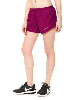 Short Fucsia Nike W Nk Dry Mod Tempo Short Emb - Comprá Ahora | Dafiti Argentina