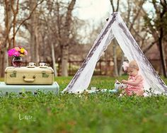 Kids Photo Props Lace Tent Cover Children Photography Prop Spring Outdoor Photo Prop. $40.00, via Etsy.