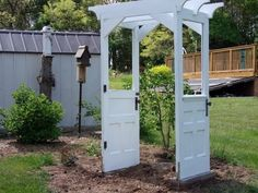 Brilliant Repurpose Old Door Ideas Without Spending Money - The ART in LIFE
