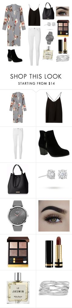 """Sin título #98"" by fleurrouge ❤ liked on Polyvore featuring Massimo Dutti, Burberry, Skechers, Masquerade, BOSS Black, Tom Ford, Gucci, Miller Harris and M&Co"