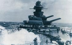 French Battleship Richelieu in 1944