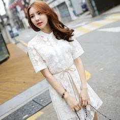 Buy 'BRONCY – Set: Short-Sleeve Lace Shirtdress + Camisole' with Free Shipping at YesStyle.co.uk. Browse and shop for thousands of Asian fashion items from South Korea and more!