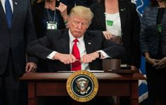 Photoshop Battle Of Trump Taking Off A Pen Cap Is So On Point