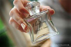 Personalised wedding perfume http://www.thestudio-mickleover.co.uk