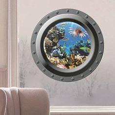 Iuhan® Fashion Submarine Window Underwater World 3D Wall ... https://smile.amazon.com/dp/B01J3ML96E/ref=cm_sw_r_pi_dp_x_TGLNybW538TGF