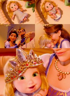 I can't blame Gothel for wanting to kidnap this kid. Anyone would wanna kidnap this kid. She's just too cute. :)