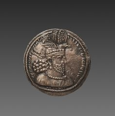 Drachma, Sasanian, Iran, reign of Hormizd II, century Ancient Persia, Ancient Rome, Parthian Empire, Sassanid, Coin Art, Persian Culture, Cleveland Museum Of Art, Antique Coins, World Coins
