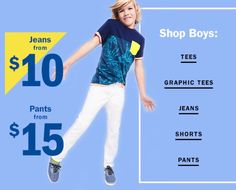 Zac for Old Navy