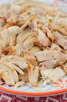 Slimming Eats Slow Cooked Chicken - gluten free, dairy free, paleo, Whole30, Slimming World and Weight Watchers friendly