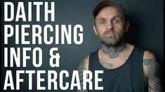 Daith Piercing Info & Aftercare | UrbanBodyJewelry.com - YouTube