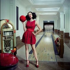300 And SIN CITY Star Eva Green Looks Red Hot In New Calendar Photoshoot