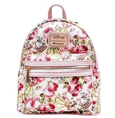 Disney Discovery- Loungefly Belle Floral Mini Backpack