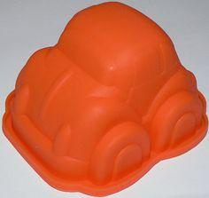 SILIKON 3D BACKFORM AUTO CAR FONDANT TORTE AUSSTECHFORM DEKO GEBURTSTAG NEU