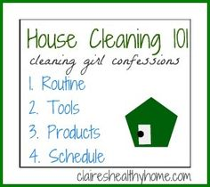 house cleaning 101