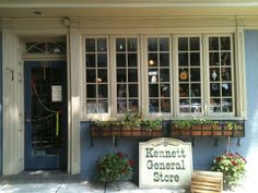 Kennett's old General Store which sells all kinds of odds and ends is a cool little stop to check out and see!
