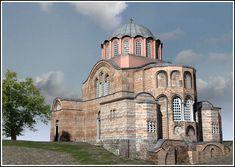 Chora Monastery  Halen Edirnekapı Kariye Müzesi olan eski Manastırı