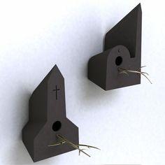 Bird houses by Frederik Roijé at TuttoBene
