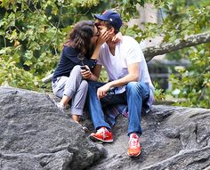Ashton and Mila's white hot romance!