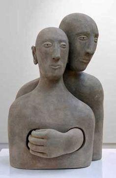 Sculpture by Carol Murphy Sculpture Painting, Sculpture Clay, Ceramic Figures, Ceramic Art, Ceramic Sculpture Figurative, Sculptures Céramiques, Paperclay, Clay Art, Oeuvre D'art