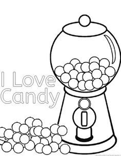Image Result For Candyland Coloring Pages Free PDF Printable