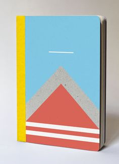 L'Athelete Notebook @paperitigre €14.00 #stationery #geometric