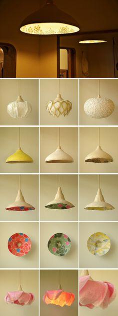 inpiration via Sachie muramatsu  是专门用和纸(washi)创作的设计师,灵感来自花和自然的风景。