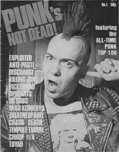 Wattie / The Exploited. Super nice sweetheart, loves his fans :)