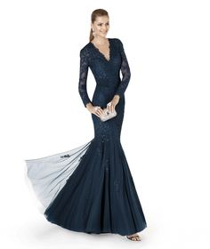 Pronovias apresenta o vestido de festa ANALUZ da coleção 2015. | Pronovias