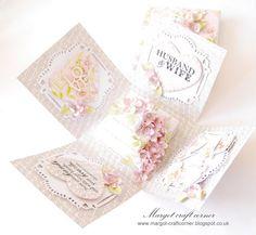 Wedding exploding card box by Margotcraftcorner on Etsy