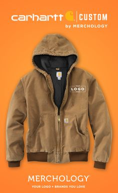 af9046cc4b8d Add Your Custom Logo to Carhartt Jackets at Merchology! Carhartt Mens  Jacket