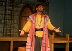 Dameion Brown makes history as first former inmate to act in a professional Shakespeare production in the Bay Area. He will play the lead in Marin Shakespeare Company's Othello.