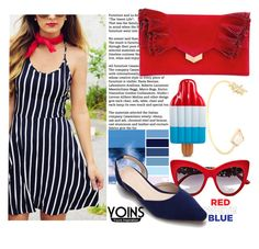 """""""Yoins-20"""" by autumn-soul ❤ liked on Polyvore featuring Dolce&Gabbana, Jimmy Choo, fourthofjuly, yoins, yoinscollection and loveyoins"""