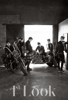 Kai, Sehun, Chan Yeol, Lay, Luhan, Tao - 1st Look Magazine Vol.74