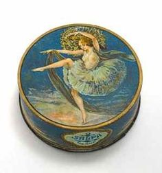 1920's Salpa Face Powder Box