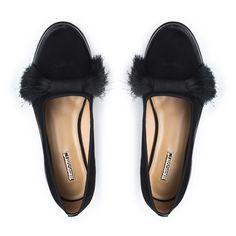 Туфли женские купить черный натуральная замша - H639-501-3